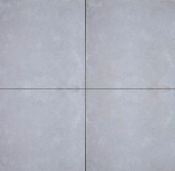 GeoCeramica® Concreet, kleur Silver, 60x60x4cm