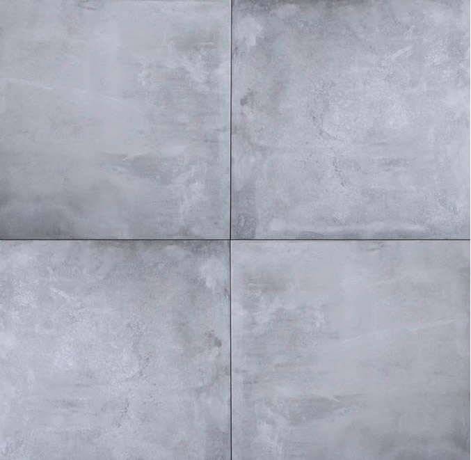 GeoCeramica® Concreet, kleur Smoke, 60x60x4cm