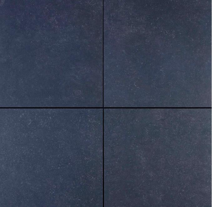 GeoCeramica® Impasto, kleur Negro, 60x60x4cm