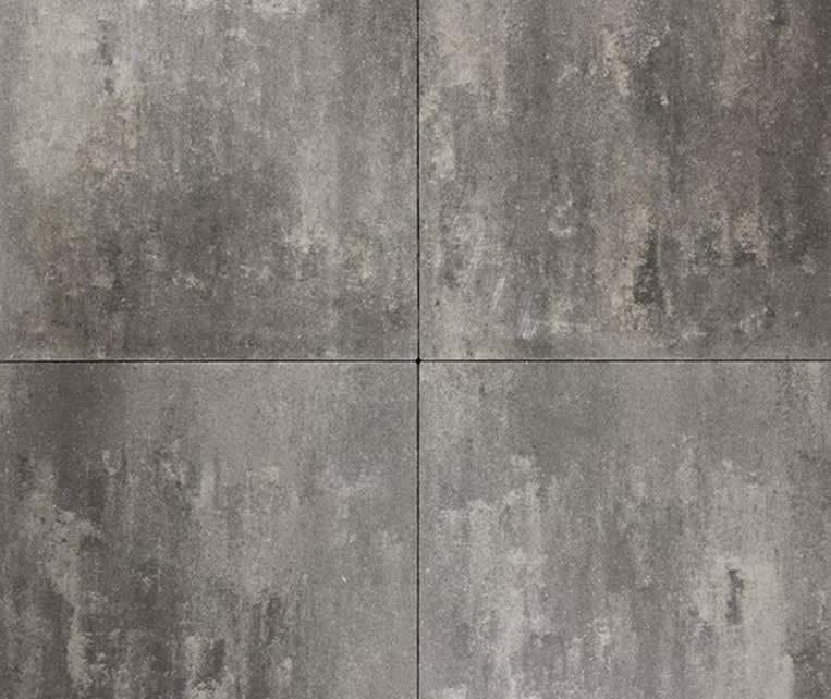 Eigenwijs 50x50x5 grijs/antraciet