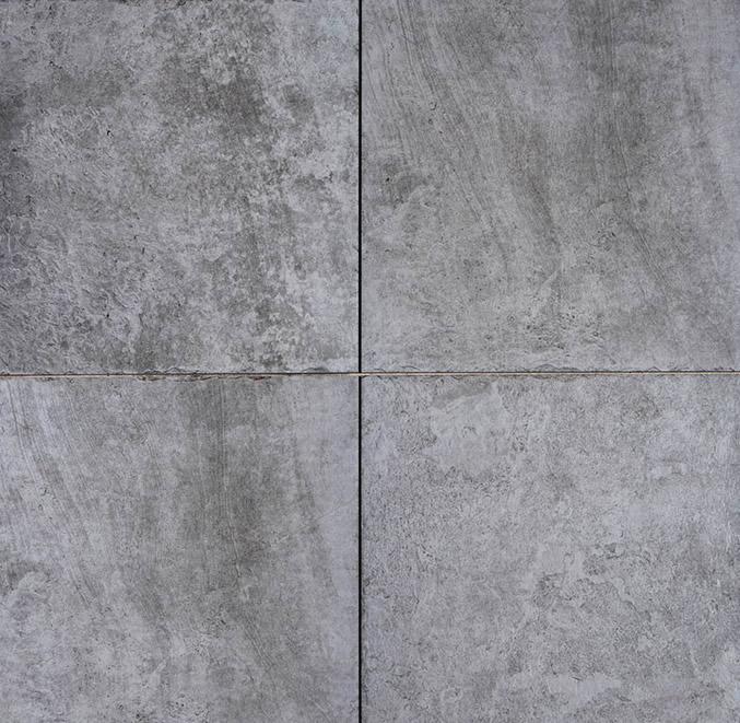 GeoCeramica® Vecchia, kleur Antra/Grey, 60x60x4cm