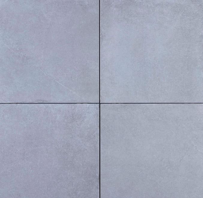 GeoCeramica® Roccia, kleur Grey, 60x60x4cm