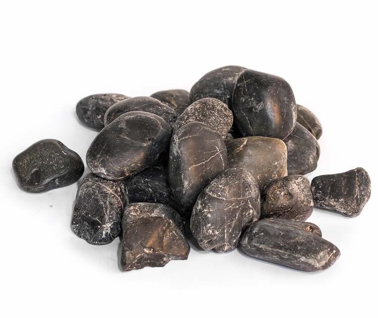 China Pebbles zwart 30-50