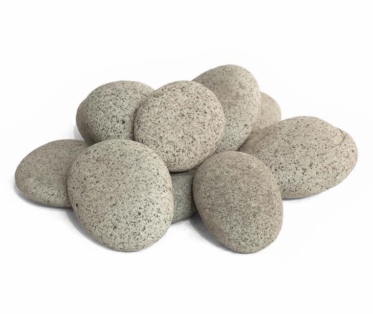 Beach Pebbles grijs  120-150 mm