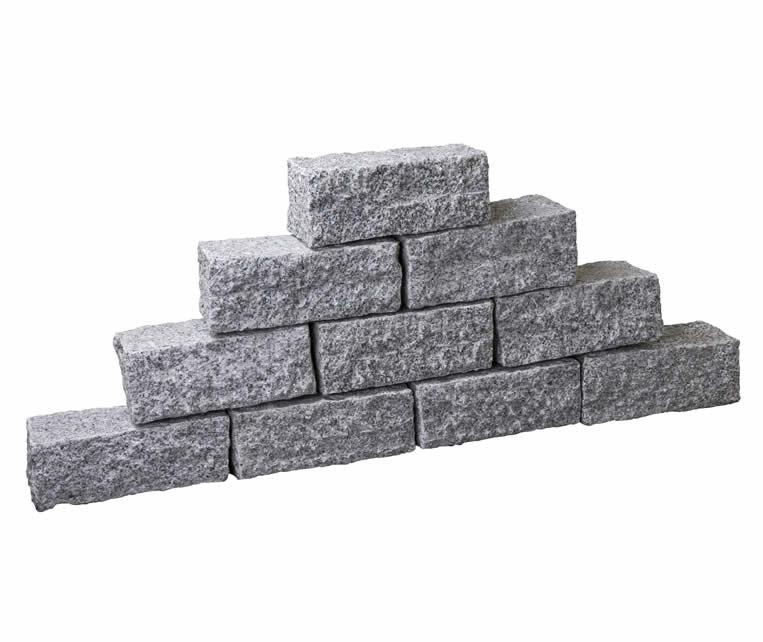 Castlerock Uno Granit Lichtgrijs