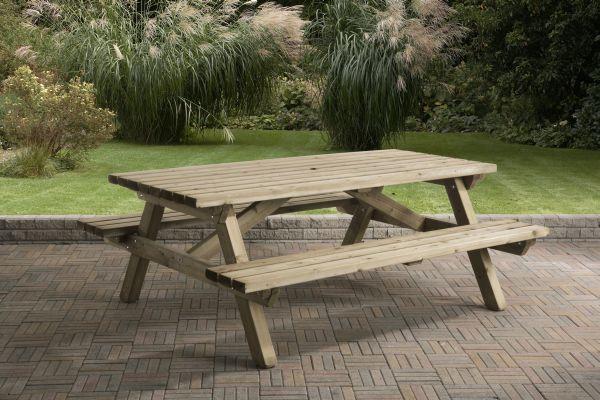 Picknicktafel rechthoek 0405
