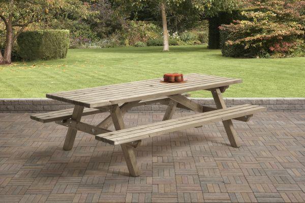 Picknicktafel rechthoek 0409