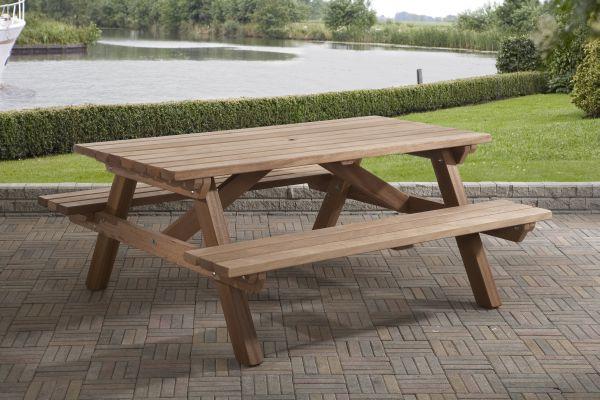 Picknicktafel rechthoek 0436