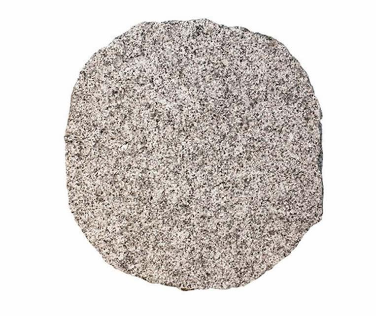 Staptegels Graniet Rond