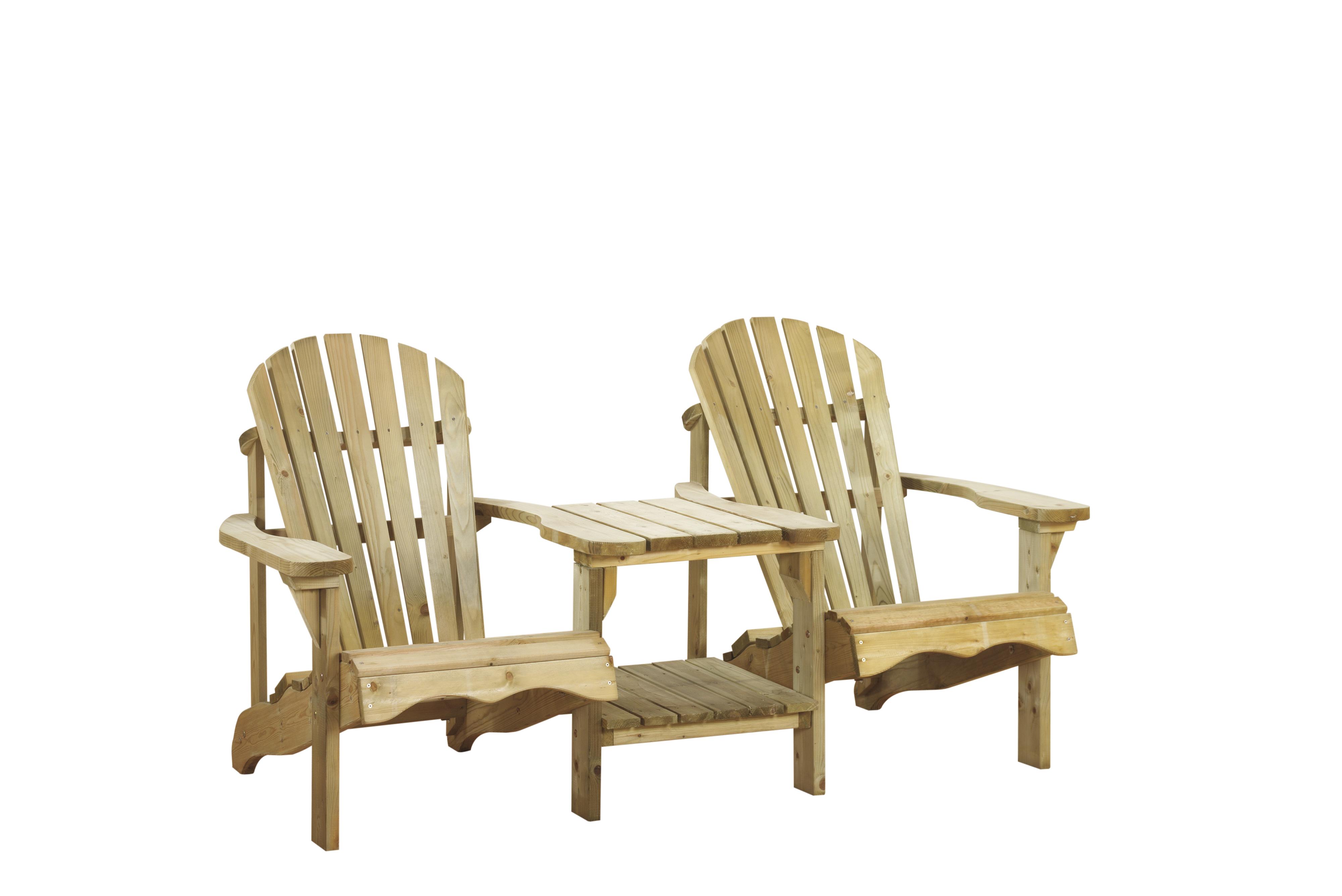 Canadian tete-a-tete deckchair 11022