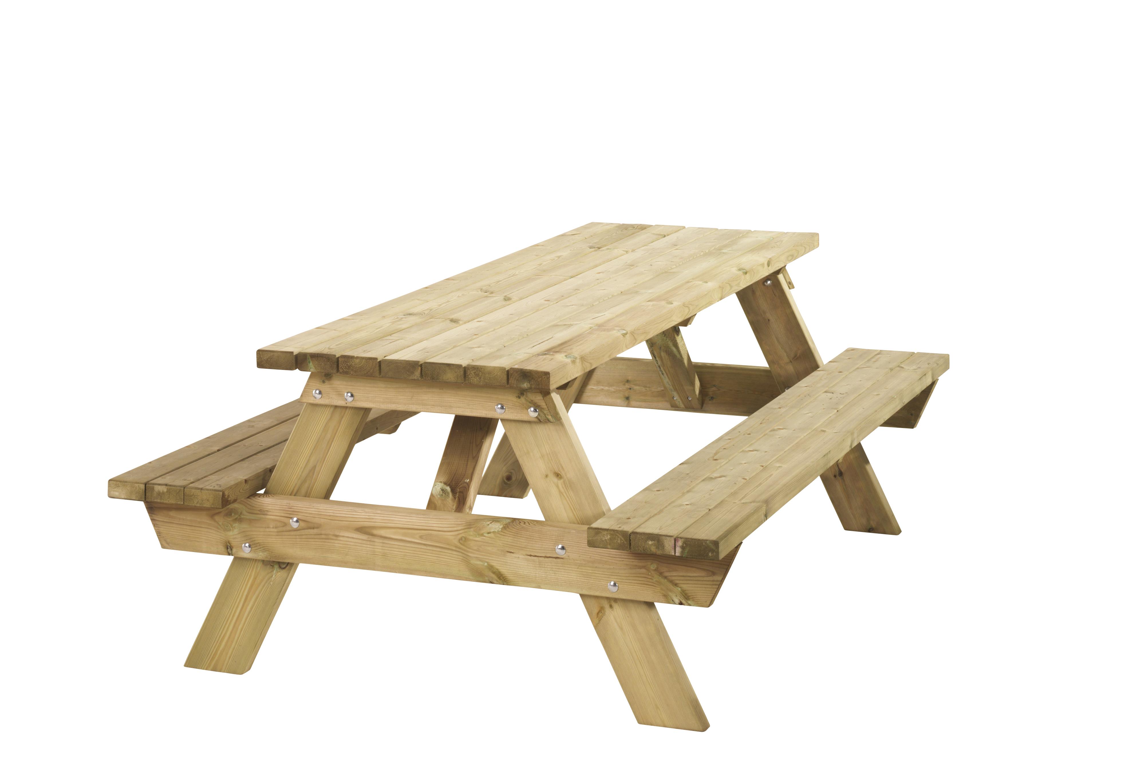 Picknicktafel Bobito bladhoogte extra hoog 11024