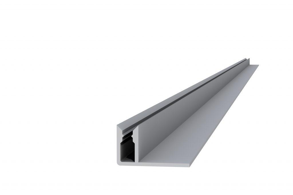 Aluminium onderprofiel