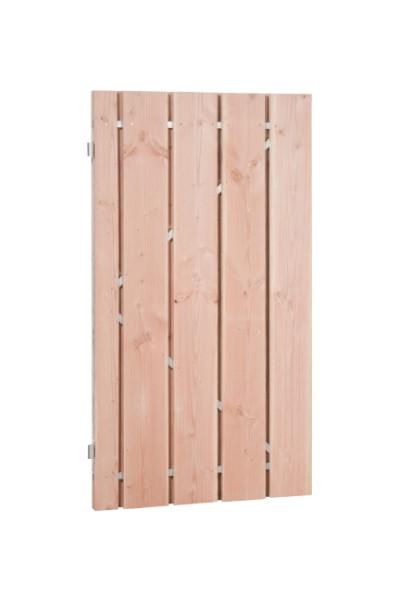 Fijnbezaagde douglas deuren, 19 mm