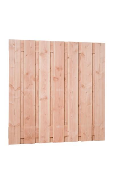 Fijnbezaagde douglas schermen, 15 planks, 19 mm