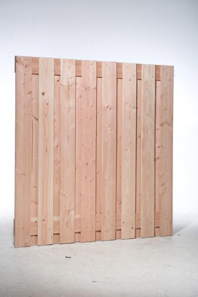 Geschaafde douglas schermen, 17 planks, 18 mm