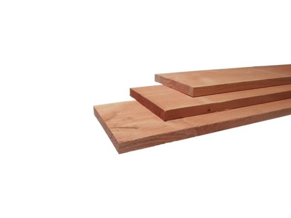 Fijnbezaagde douglas planken