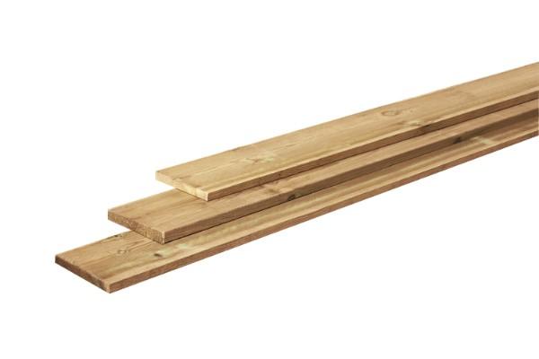 Fijnbezaagde grenen planken 2,0 x 20 cm