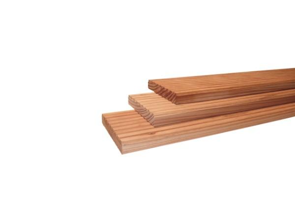 Terrasplanken douglas geschaafd 2,4 x 13,8 cm