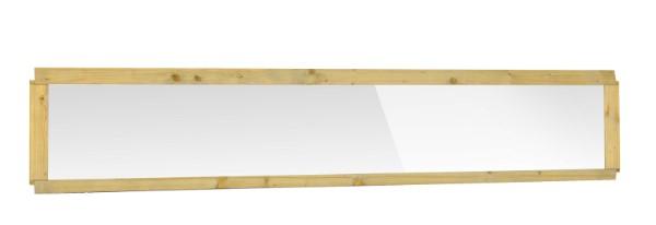 Decoratie-elementen t.b.v. Grenen zelfbouwschutting