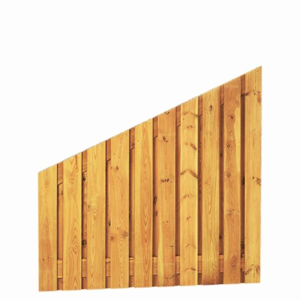 Grenen schermen, 21 planks, 17 mm