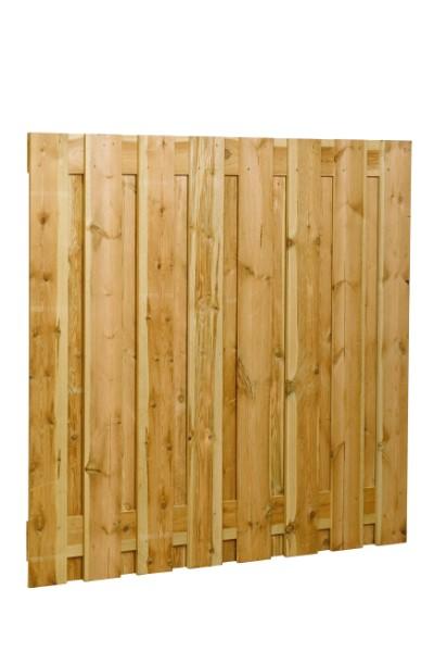 Grenen schermen, 17 planks, 17 mm