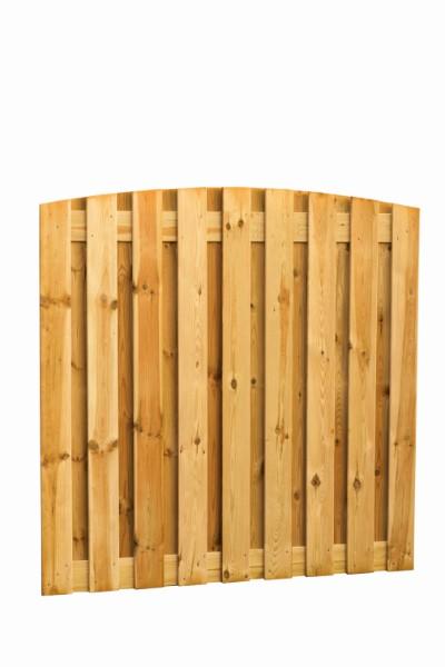 Grenen toogscherm, 19 planks, 16 mm