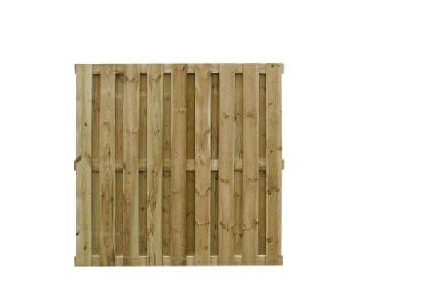 Plankenscherm grenen 17-plank