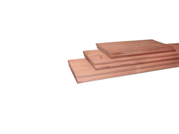 Geschaafd douglas halfhouts rabat 1,8 x 15,0 cm