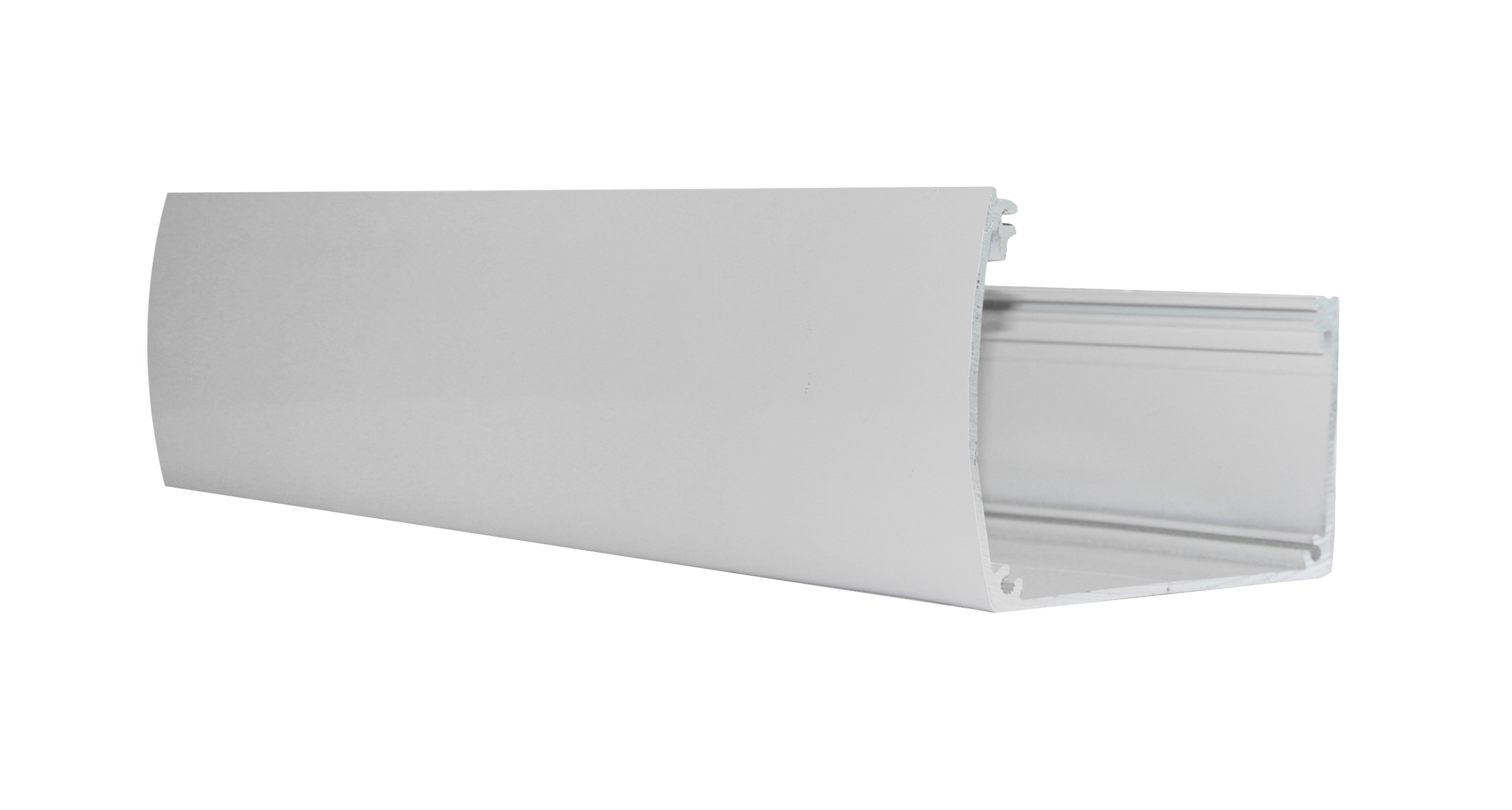 Veranda dakgoot wit Aluminium