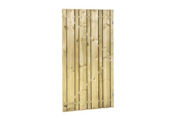 Linia planken deur