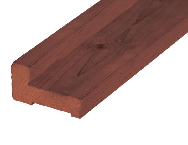 Hardhouten fundamentbalk 4,5 x 9,0 x 200 cm.