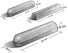 Stootbanden Straatmodel