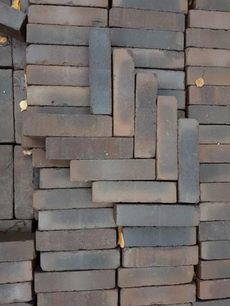 gebakken waalformaat 5x20x6cm bruin-zwart kildare
