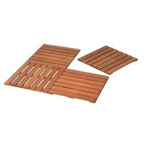 Hardhouten tegel 100 x 100 cm