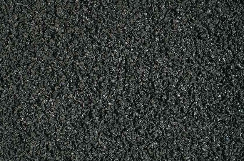 Inveegkwarts zwart 0,2-1 mm.