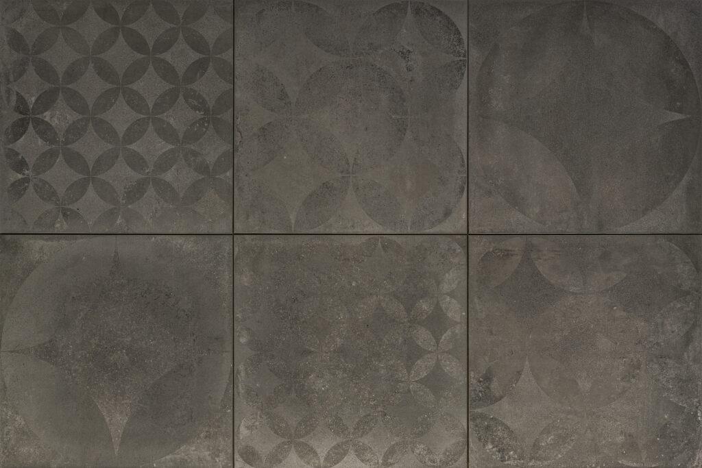 CERASUN Concrete Decor Graphite 60x60x4