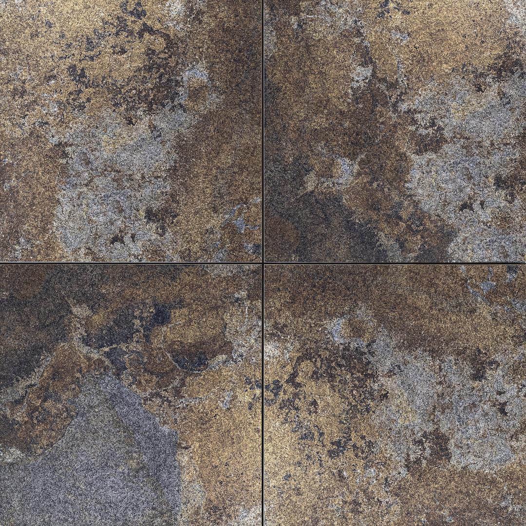 CERASUN Slate Multicolor 60x60x4